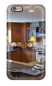 Discount 9386304K29221648 Premium Protection Corner-facing Rich-wood Kitchen With Elbow Island And Support Beam Case Cover For Iphone 6- Retail Packaging