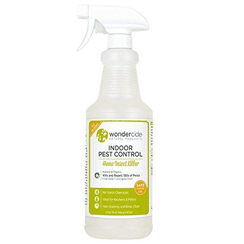 Wondercide Natural Indoor Pest Control Spray - Home Insect Killer - Cedar & Lemongrass - 32 oz