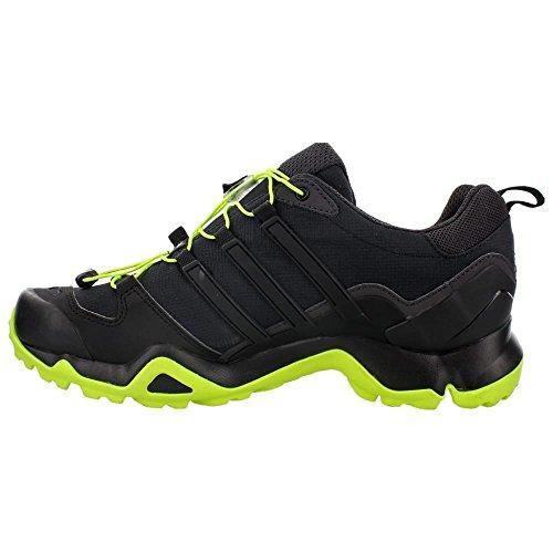 Adidas Terrex al aire libre Swift R Senderos de zapatos - Negro / Gris Vista / blanco 6 Black/Solar Yellow/Utility Black