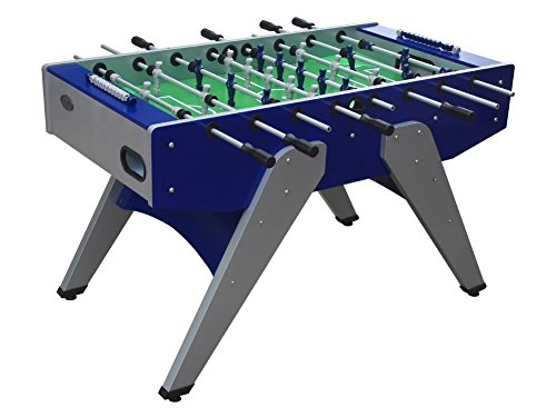The Florida Weatherproof / Outdoor Foosball Table in Blue By Berner Billiards