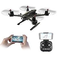 Goolsky FQ777 FQ02W 720P HD Camera Wifi FPV Foldable Transform Robot Shape 2.4G 4CH 6-Axis Gyro G-Senseor Selfie Drone RTF Quadcopter