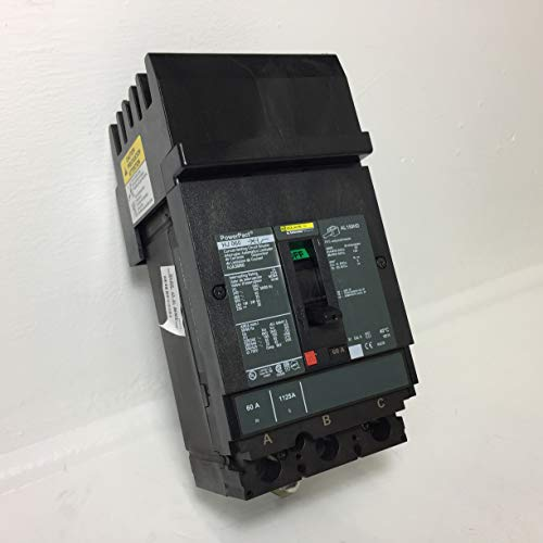 Circuit Breaker- NEW 600 Volt 3 Pole 60 Amp Square D HJA36060