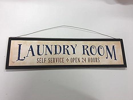 Amazon.com: Sala de Lavandería Self Service abierto las 24 ...