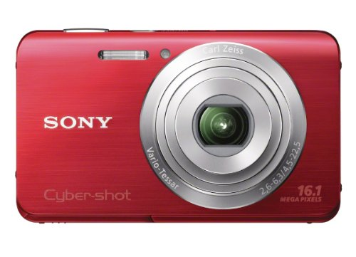 Sony Cyber-shot DSC-W650 16.1 MP Digital Camera with 5x O...
