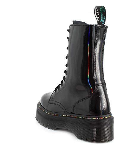 Nero Arcobaleno Boots Hi Donna Martens Dr Jadon 1qI64I7