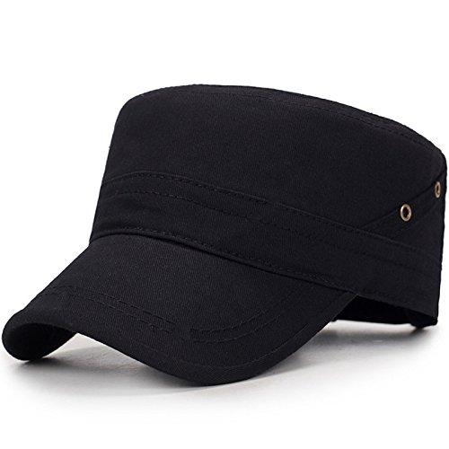 Meaeo Caps Liebhaber Männer Frauen Baseball Cap Reine Farbe Hut Schwarz Weiß Sonnenhut B07CZC6TP7 Caps Stabile Qualität