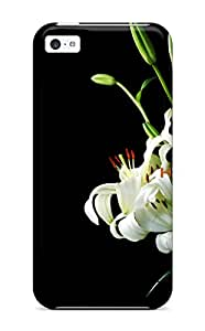New Tpu Hard Case Premium Iphone 5c Skin Case Cover(happy Bouquet )