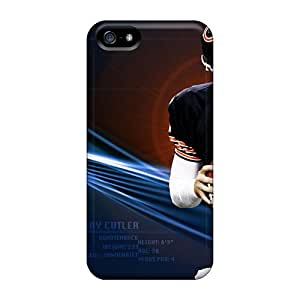 Shock Absorbent Hard Phone Covers For Iphone 5/5s (ACV6623ctRr) Allow Personal Design Nice Chicago Bears Pictures