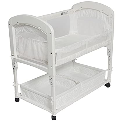 Image of Baby Arm's Reach Concepts Cambria Co-Sleeper Bassinet, White