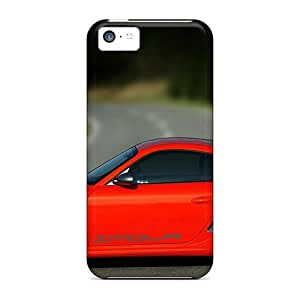 Fashionable Style Case Cover Skin For Iphone 5c- Autoart Porsche 911 Tt