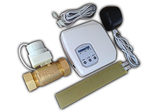 Water Valve Shut Automatic Off (FloodStop FS-3/4-C Automatic Valve for Water Heater)
