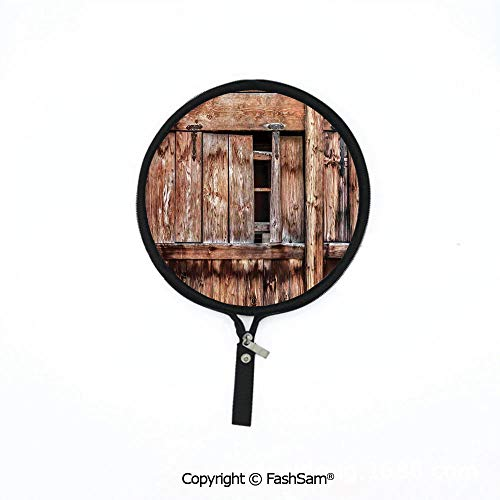 Hot Soft Mouse Bag Multi-Functional Abandoned Damaged Oak Barn Door with Iron Hinges and Lateral Cracks Knock Theme Waterproof Mouse Pad