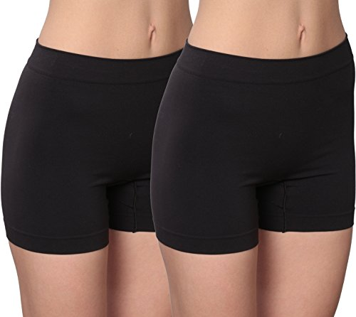 ssly Smooth Boxer (2 Pack), Black/Large ()