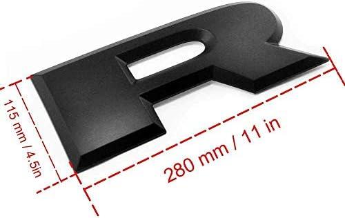 Emblema 3D para portón trasero, letras RAM, placas ...