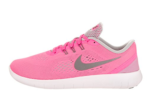 NikeFree Rn Gs - Zapatillas de entrenamiento Niñas Rosa