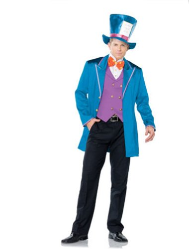 Mad Tea Party Host Adult Costume - X-Large - Mad Hatters Tea Party Costume