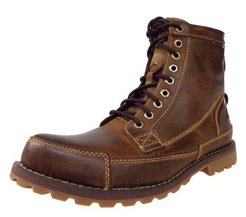 Timberland EK2.0 RUGWP LTT CHK NAVY 5326R - Botas de cuero para hombre Medium Brown Full-grain