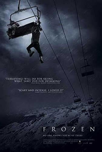 Frozen Notice Movie (2010) Style A 11 x 17 Inches - 28cm x 44cm (Shawn Ashmore)(Emma Bell)(Kevin Zegers)(Ed Ackerman)(Rileah Vanderbilt)(Adam Johnson)