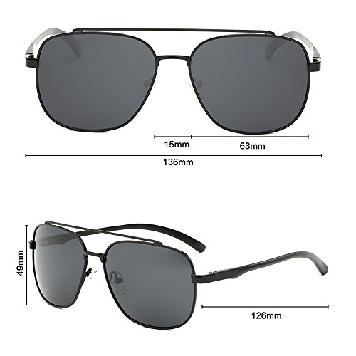 Polarizadas C UV Protección Gafas Aviator para Hombre De Mujer Sol 400 para qwU7xPwET