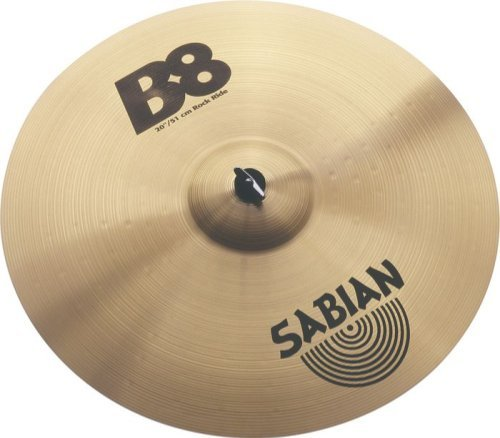Sabian 20-inch Rock Ride B8 Cymbal, used for sale  Delivered anywhere in USA