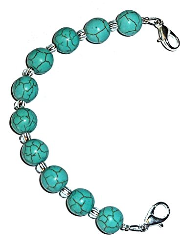Hidden Hollow Beads Women's Medical Alert ID Interchangeable Replacement Bracelet - Alert Medical Bracelet Bead