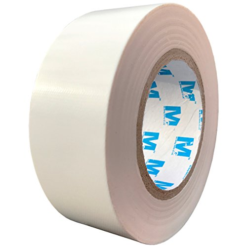 MG888 White Duct Tape 1.88 Inches x 60 Yards, Duct Tape for Crafts, DIY, Repairs, Indoor Outdoor - Foil Waterproof Tape