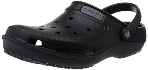 Crocs Mixte charcoal Noir Adulte Duet black Wave Sabots PS4qrtxPw