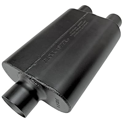 Flowmaster 9430472 Super 44 Muffler - 3.00 Center IN / 2.25 Dual OUT - Aggressive Sound: Automotive