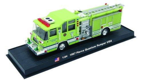 Pierce Quantum Pumper Fire Truck Diecast 1:64 Model (Amercom GB-8) (Fire Truck Model compare prices)