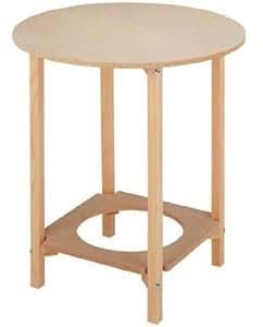 mesa camilla redonda 80 cm hogar