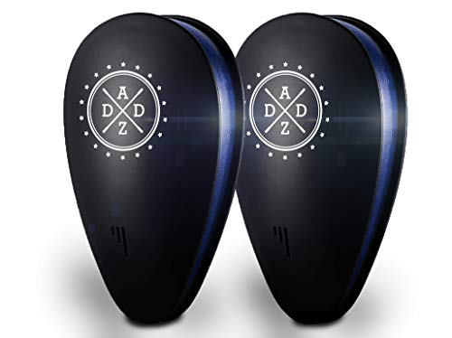 DADZ PR1 Ultrasonic Pest Repellent2PCs - Mosquito & Mouse Control Repellent Plug Indoor/Outdoor Use-Silent & Easy to Use–Get Rid of Mosquitos, Insects, Rats, Bugs, Spiders, Rodents-Child & Pet Safe