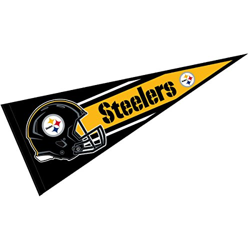 Pittsburgh Steelers Official NFL 30 inch Large - Pennant Steelers Pittsburgh