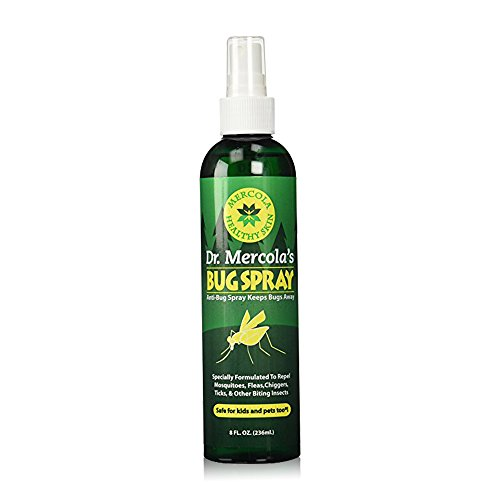Dr Mercola Bug Spray - 8 Fl Oz Bottle - 100% Deet Free, Uses Essential Oils to Repel Mosquitoes, Fleas, Chiggers, Ticks, and Other Biting Insects, Pleasant Smell, No Harsh Chemicals by Dr. Mercola (Image #8)