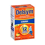 Delsym Orange Extended Release Suppressant 12 Hour Cough Relief Liquid, 3 Fluid Ounce -- 12 per case.