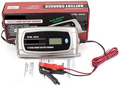 CONRAL Cargador batería Carro camión Impermeable ...