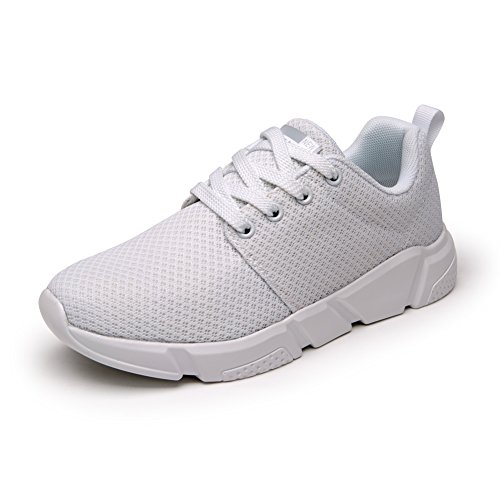 News Stylish High Top Shoe Breathable Walking Street Sneakers Sports Casual Shoes for Women White PO5qNJ