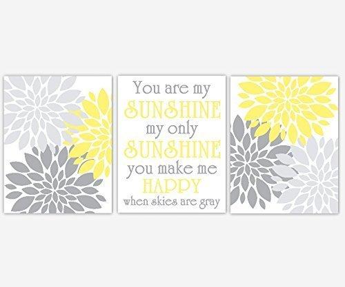 Gray and Yellow Dahlia