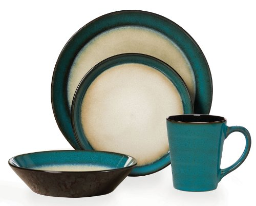 Pfaltzgraff Everyday Aria 16-Piece Dinnerware Set, Service for 4 (Sets Used Dinnerware)