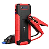 iClever 1300A Peak 18000mAh Car Jump Starter (up to 8L Gas or 6.5L Disel Engine), 12V Portable Auto Battery Booster with Smart Clip, Portable Power Packs with QC3.0 Charging Ports, LED Flashlight