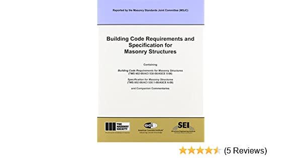 Aci 530 08 building code requirements and specification for aci 530 08 building code requirements and specification for masonry structures not available 9781929081295 amazon books fandeluxe Image collections
