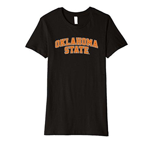 Womens Oklahoma State University Ncaa Womens T Shirt Sc31ok Small Black