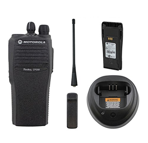 Motorola Radius CP200 Radio UHF 438-470 Mhz 4 Ch Narrow band