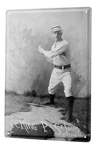 (Tin Sign Fun St Louis pitcher)