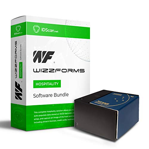 International Check-in 7017 Solution - Passport and Driver's License  Scanner w/IDScan WizzForms Global Software - IDWare