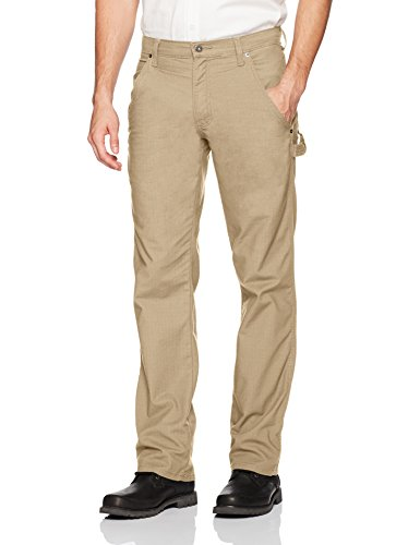 Dickies Men's Tough Max Ripstop Carpenter Pant, Rinsed Desert Sand, 38 30