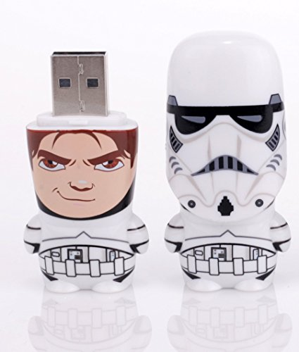 Mimobot Storm Trooper Unmasked Han Solo USB Flash Jump Drive 8GB- Star Wars (Drive Flash Mimobot)