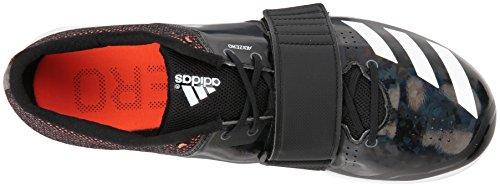 adidas Adizero tj/pv Running Shoe core Black, FTWR White, Orange 13.5 M US by adidas (Image #8)