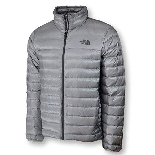 (The North Face Men Flare Down Jacket Coat, Mid Grey, Large)