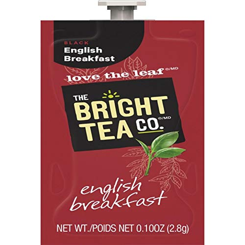 FLAVIA Tea, English Breakfast, 20-Count Fresh Packs (Pack of 5)