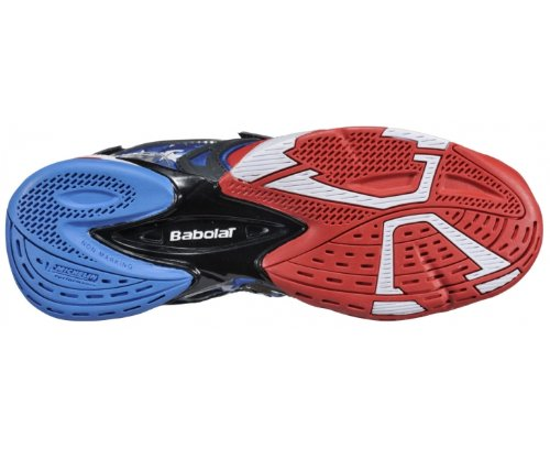 Babolat Propulse 3 Limited Edition Us Scarpa Da Tennis Uomo Rosso bianco blu 40 5